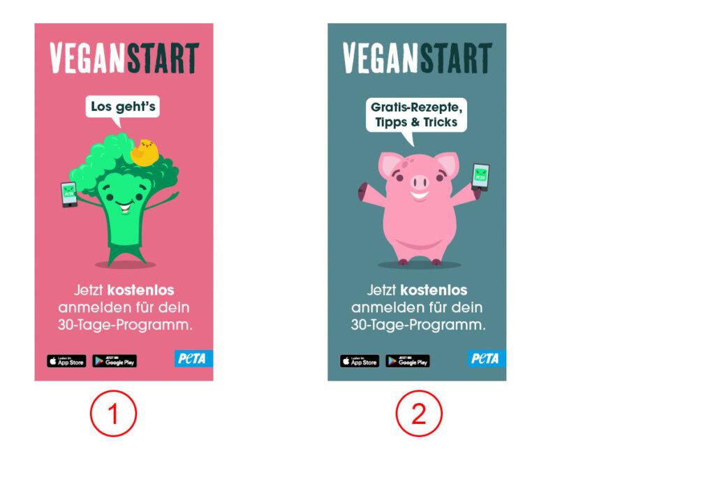 Veganstart Banner