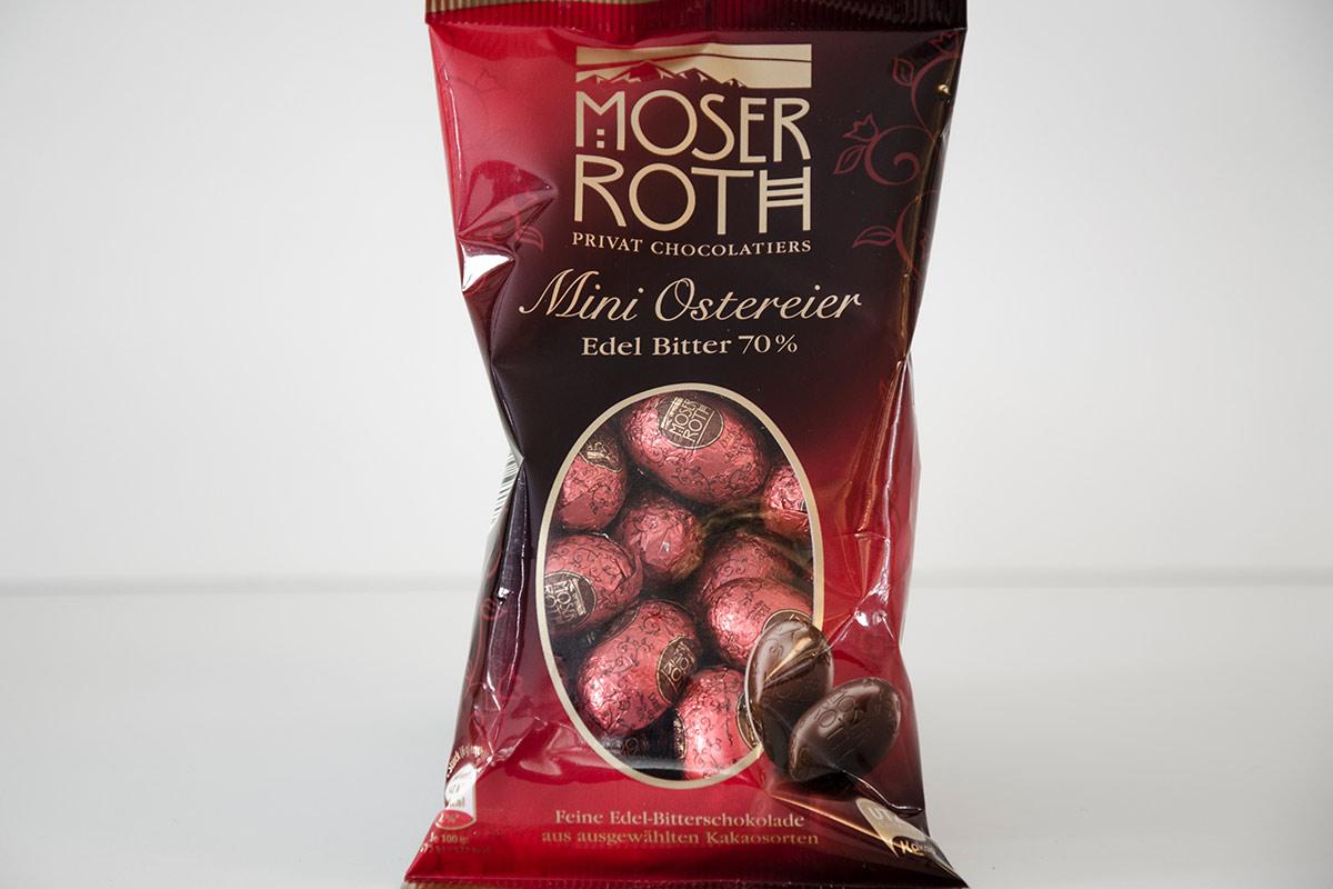 Moser Roth Mini Ostereier Edel Bitter