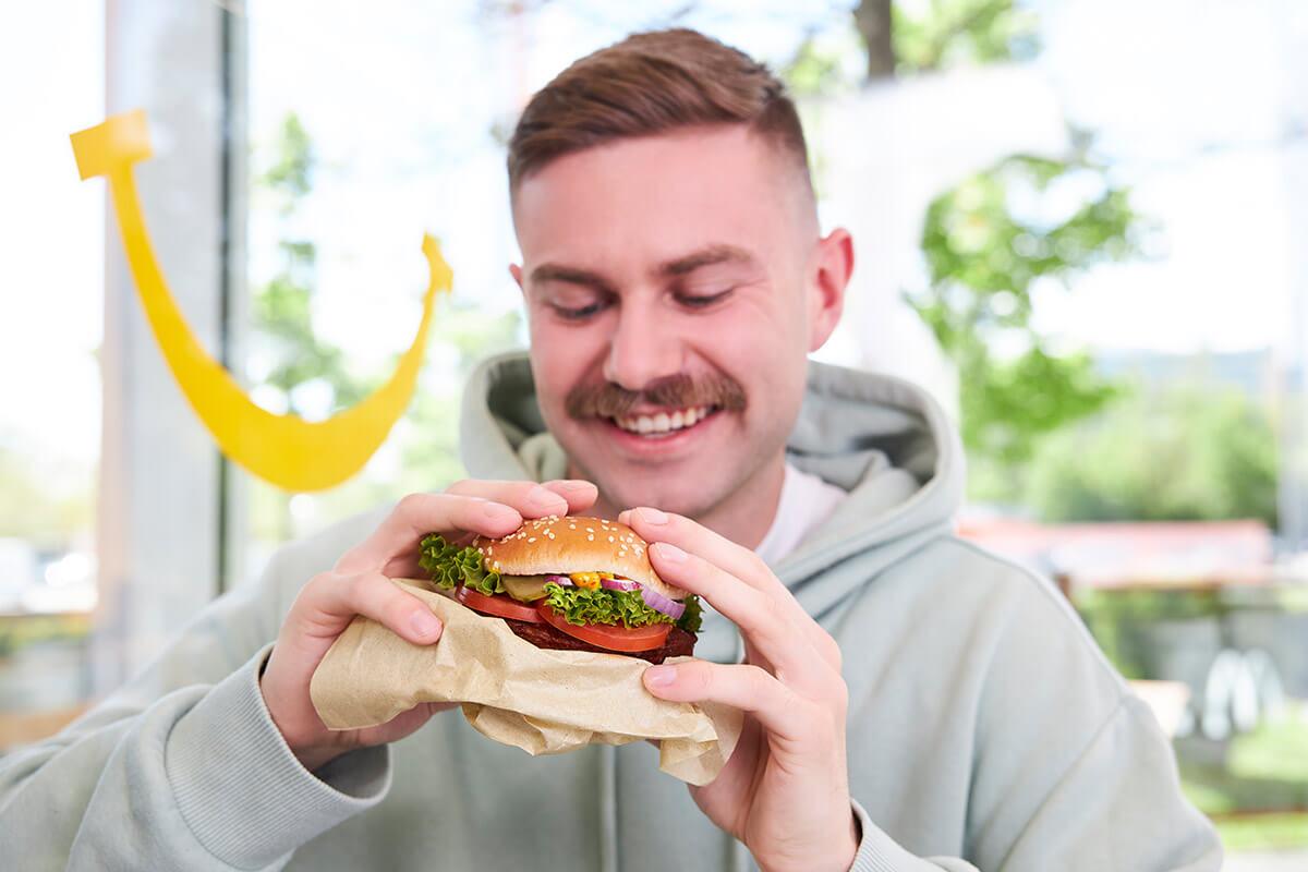 Fresh Vegan TS: McDonald's erneuert seinen veganen Burger