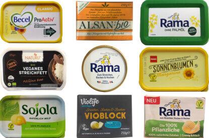 vegane butter margarine