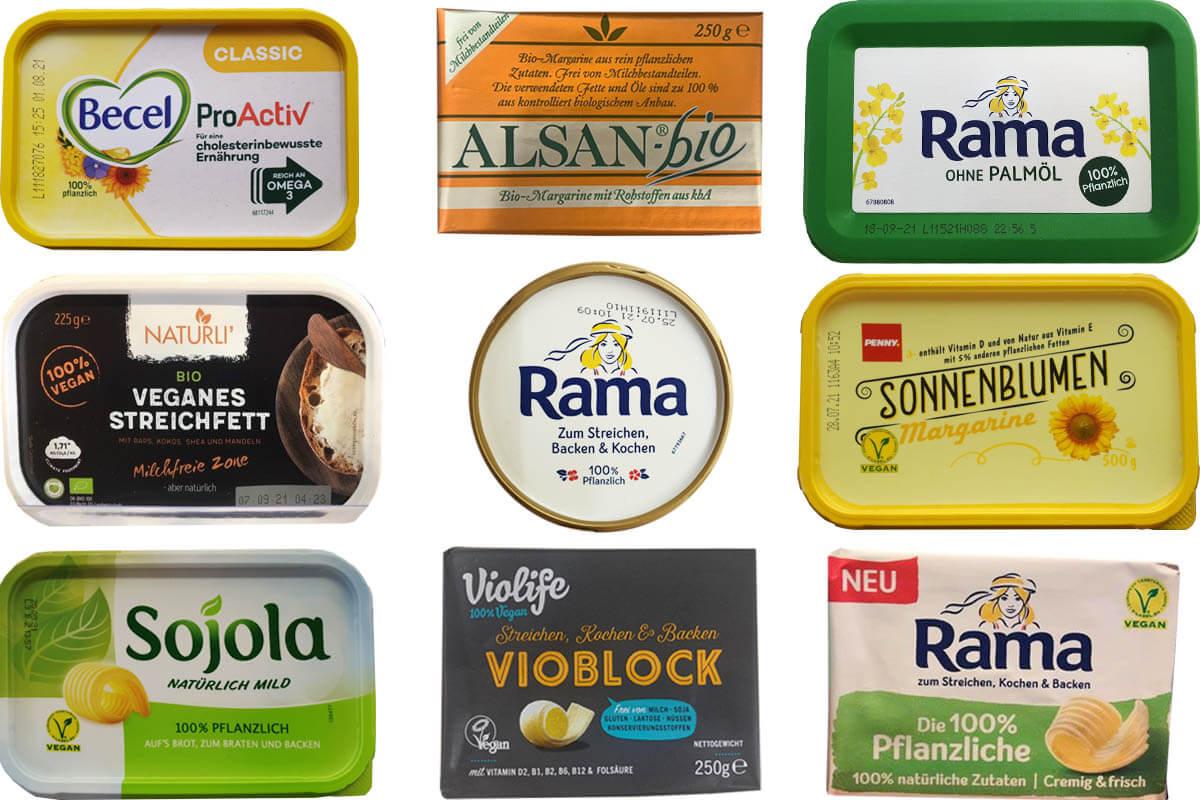 Vegane Butter und Margarine: Die 17 besten Alternativen