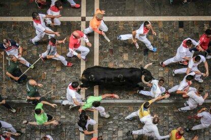 Pamplona Stierrennen