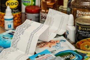 Einkauf Kassenzettel