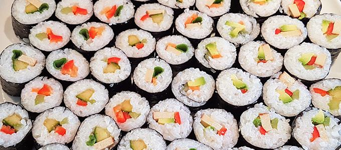 tierfreundliches rezept f r karfreitag und ostern veganes sushi. Black Bedroom Furniture Sets. Home Design Ideas
