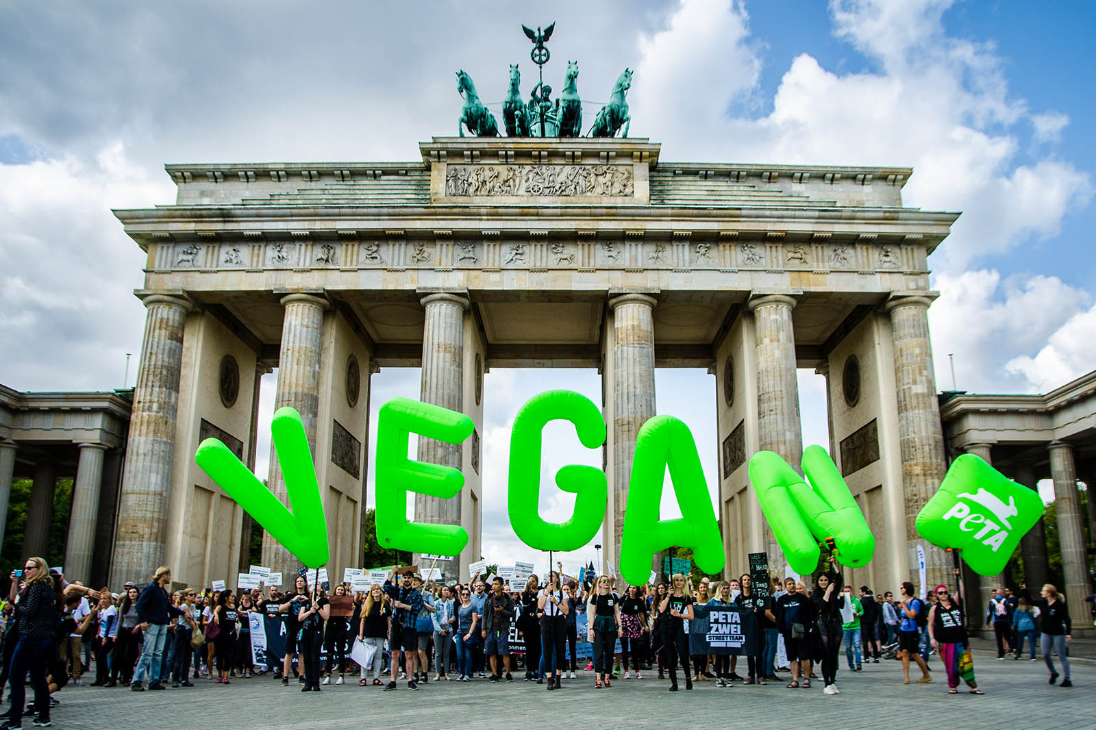 PETA Aktion vegan Berlin