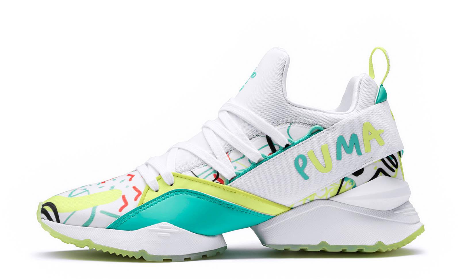 Puma hat einen Schuh aus veganem Ananasleder entwickelt