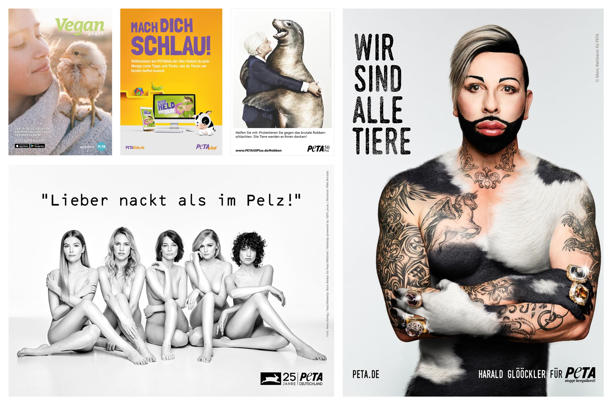 PETA Freianzeigen & mehr