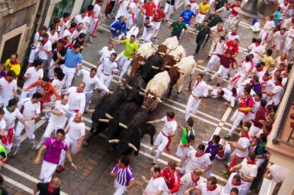 Stierrennen Pamplona