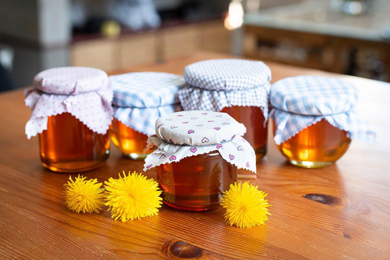 Löwenzahnhonig-Rezept – veganen Honig selber machen