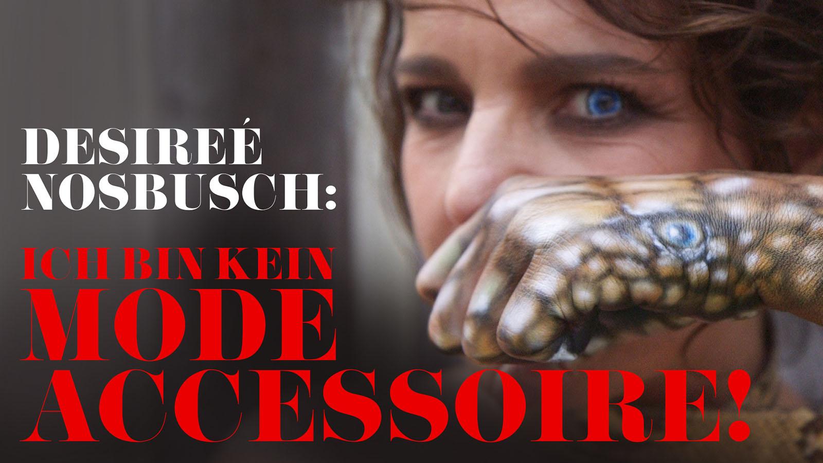 """Désirée Nosbusch nackt für PETA: """"Ich bin kein"""