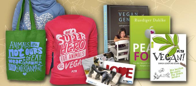 PETAs Geschenktipps zu Weihnachten