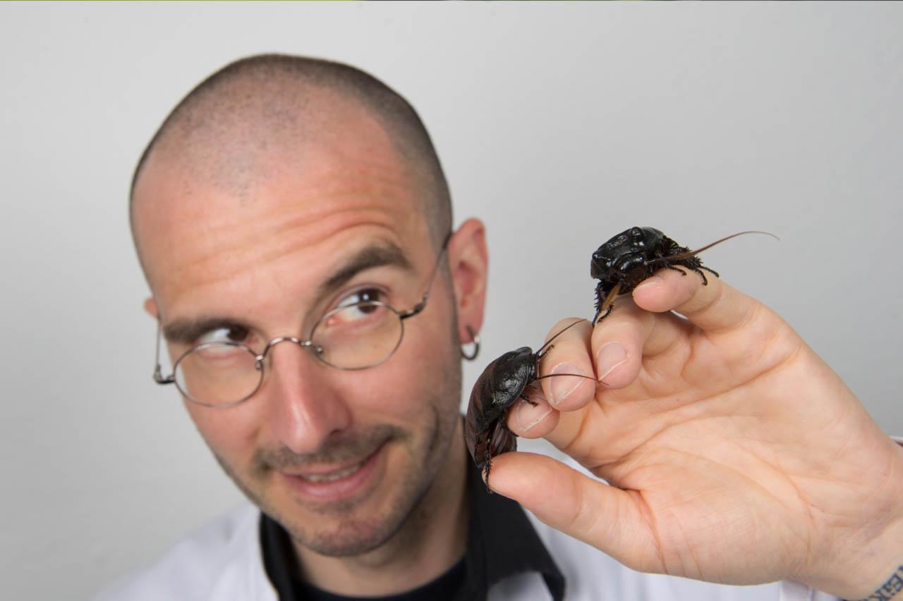 Mark Benecke: Warum wir keine Insekten essen sollten