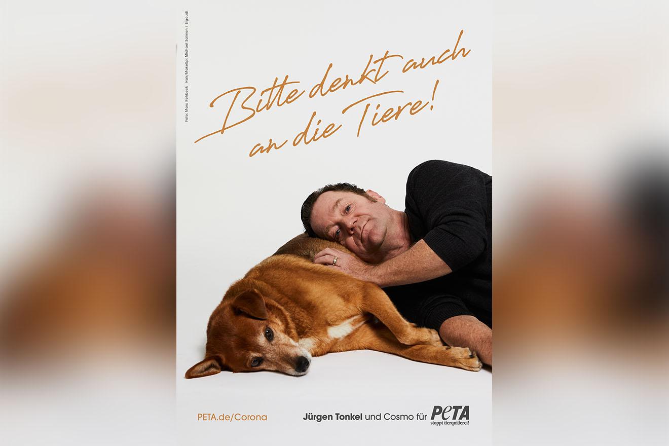 """Corona: Schauspieler Jürgen Tonkel: """"Bitte denkt auch an die Tiere!"""""""