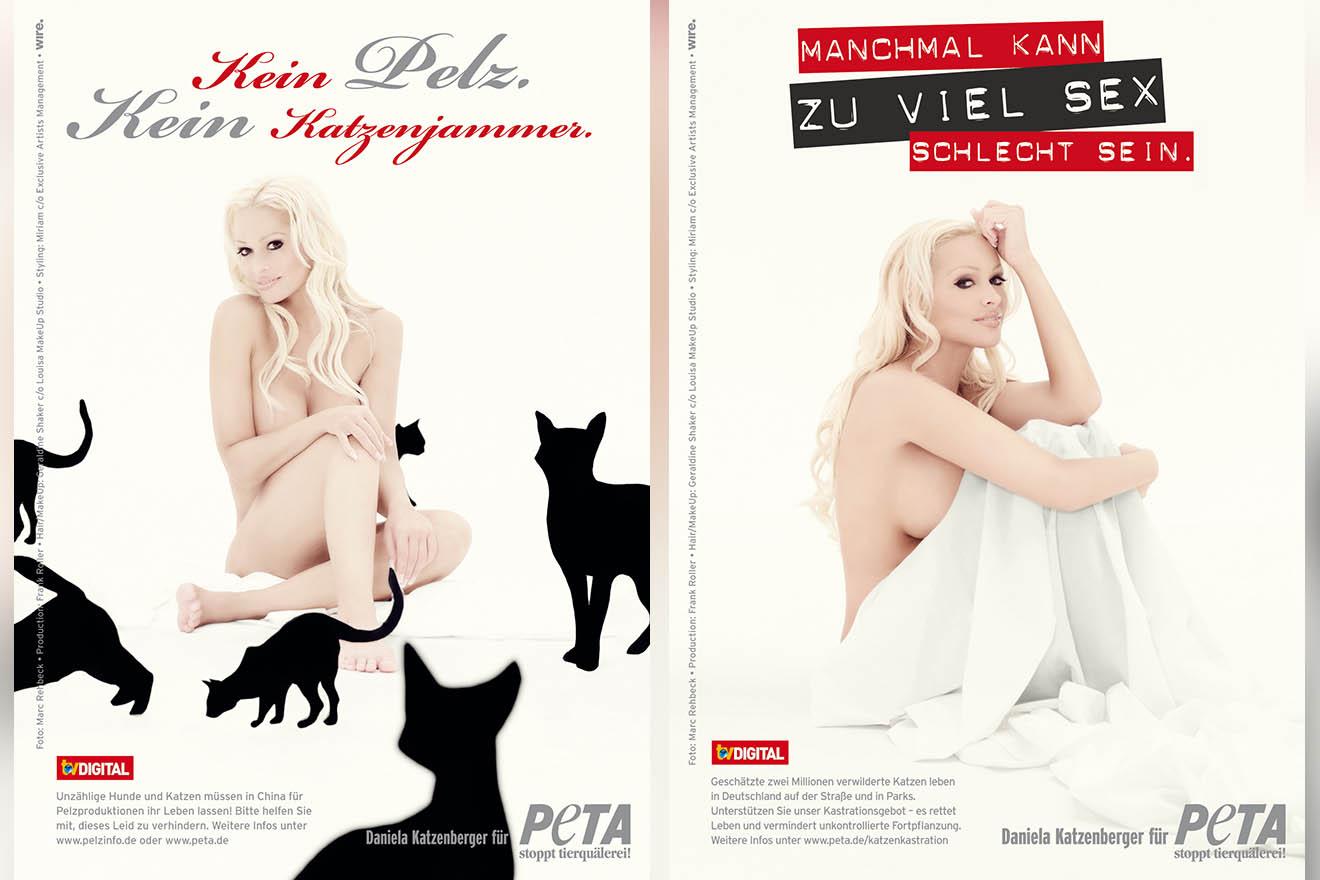 Sexy gegen Pelz und für Katzenkastration