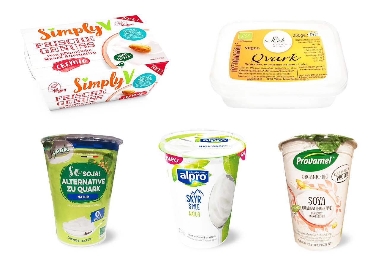 Veganer Quark: Die 5 besten pflanzlichen Alternativen