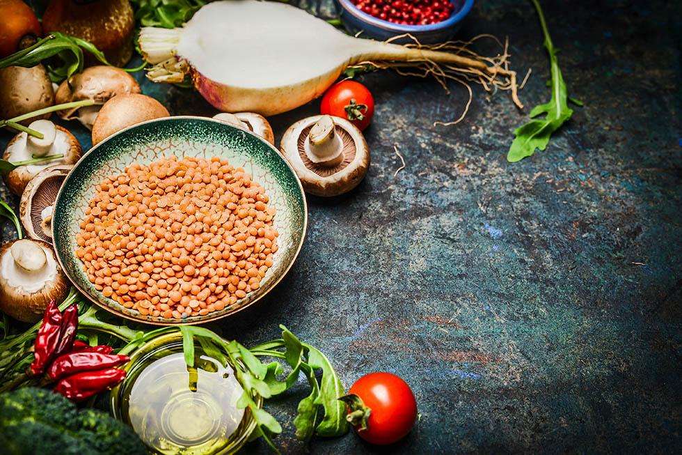 Die richtige Nährstoffzufuhr bei veganer Ernährung