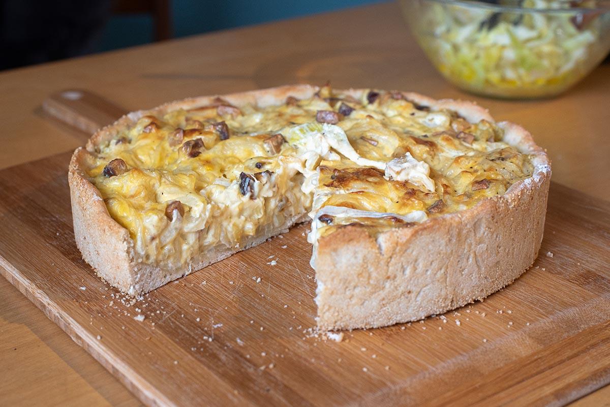 Veganer Zwiebelkuchen: Rezept für den herzhaften Klassiker