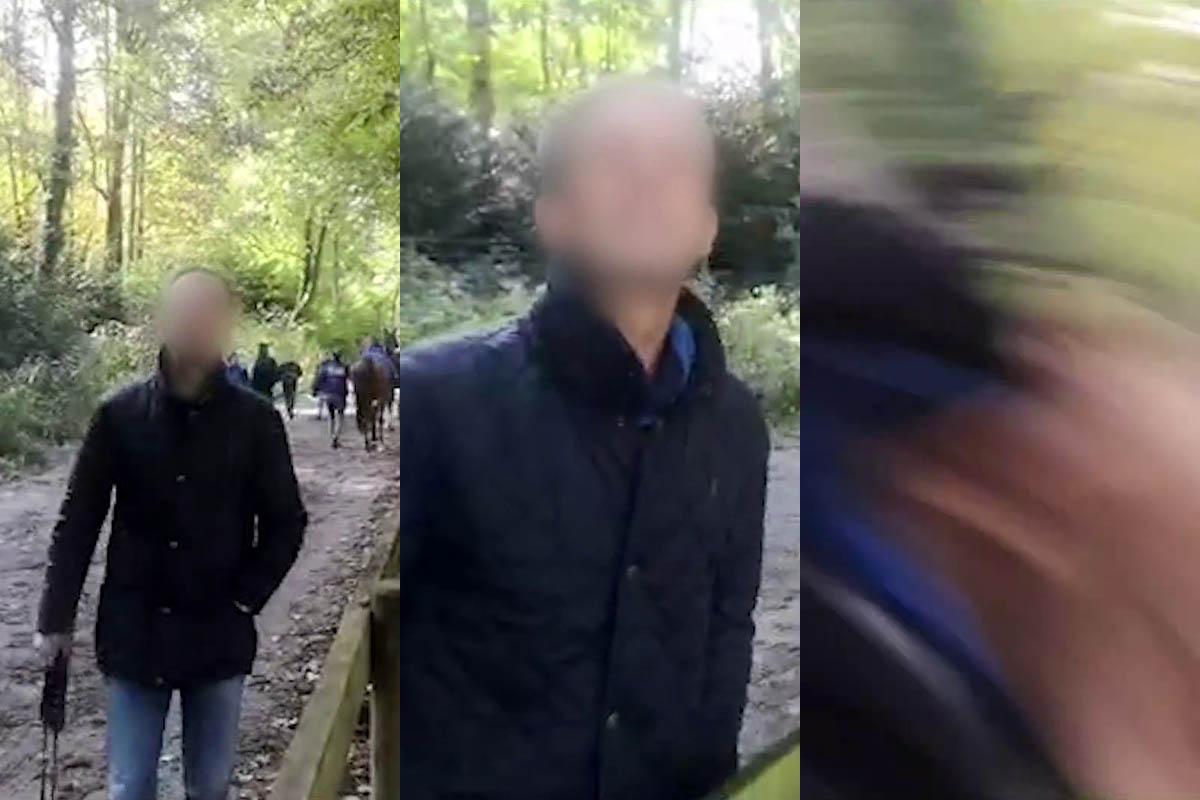 Angriff bei Pferderennen-Demo: Aktivistin ins Gesicht geschlagen