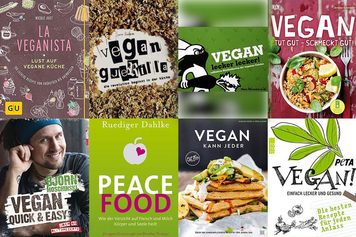 Die 8 besten veganen Kochbücher