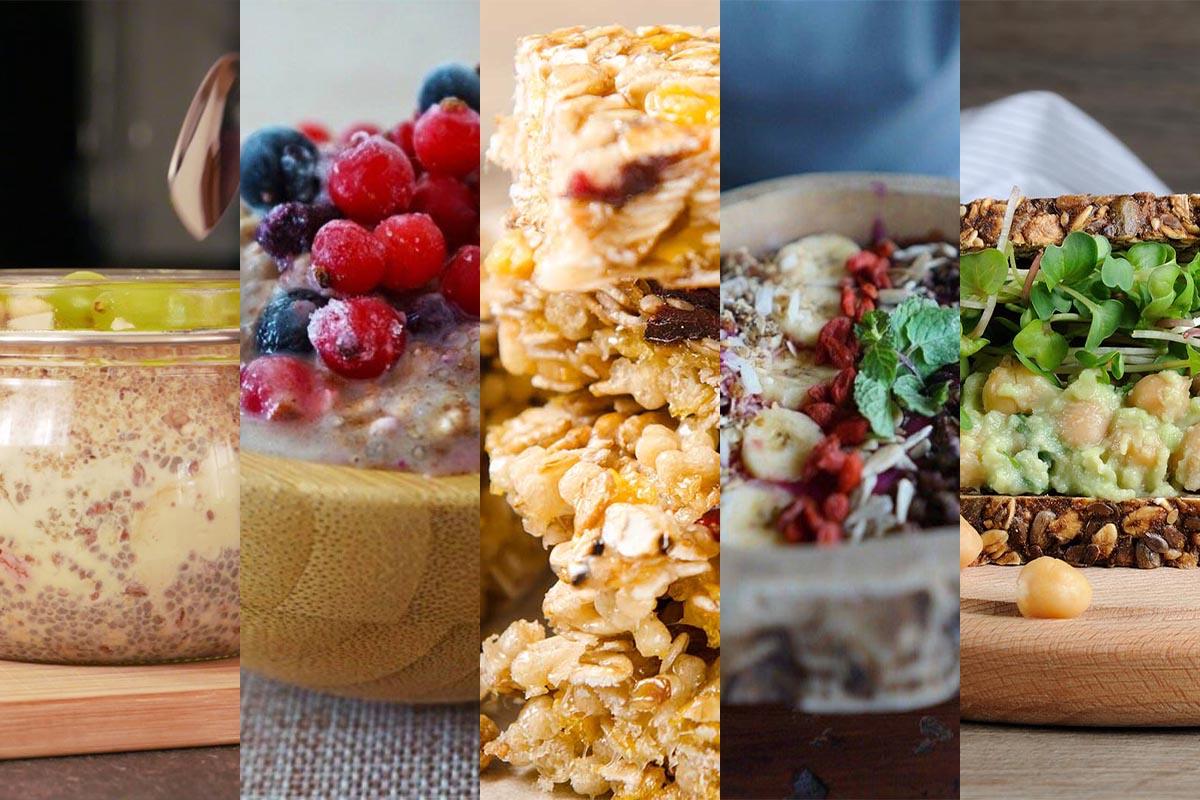 Vegan frühstücken: 5 einfache, leckere und gesunde Frühstücksideen
