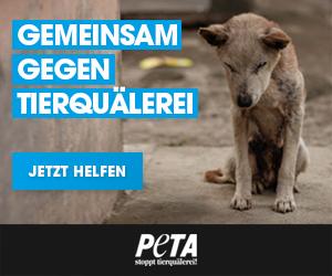 PETA Deutschland – Gemeinsam gegen Tierquälerei