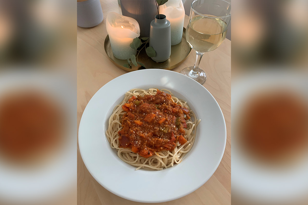 Vegane Grünkern-Bolognese – einfaches und leckeres Rezept