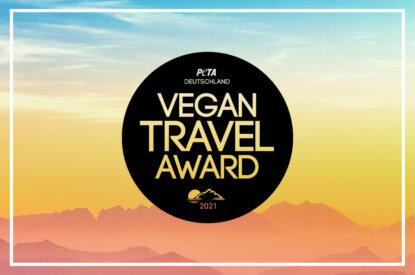 PETA Vegan Travel Award Logo