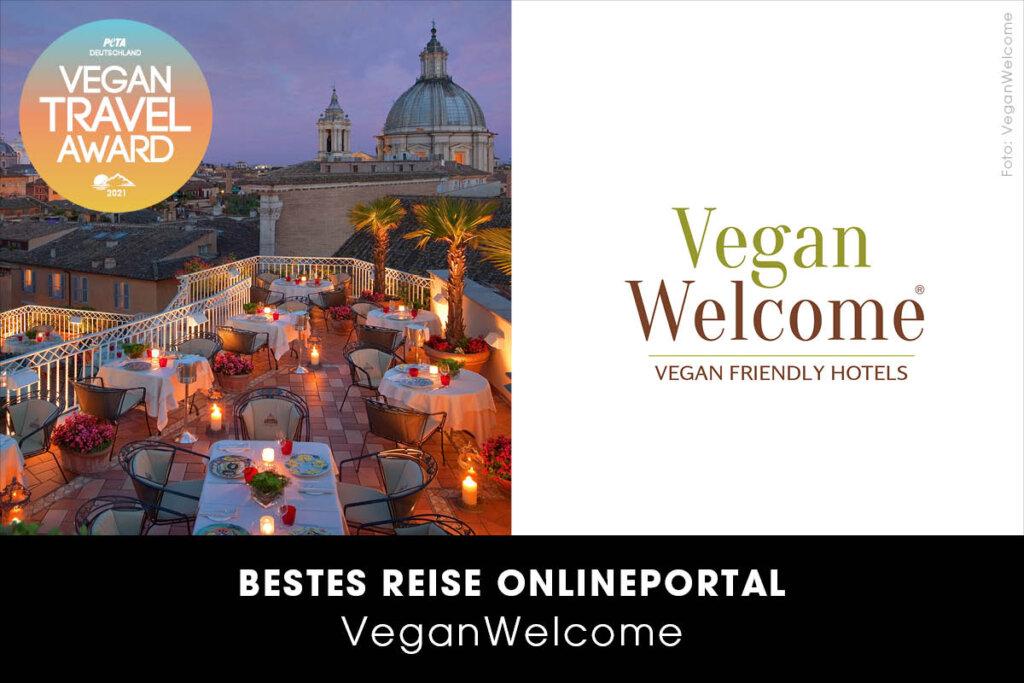 Vegan Travel Award Bestes Online-Reiseportal VeganWelcome