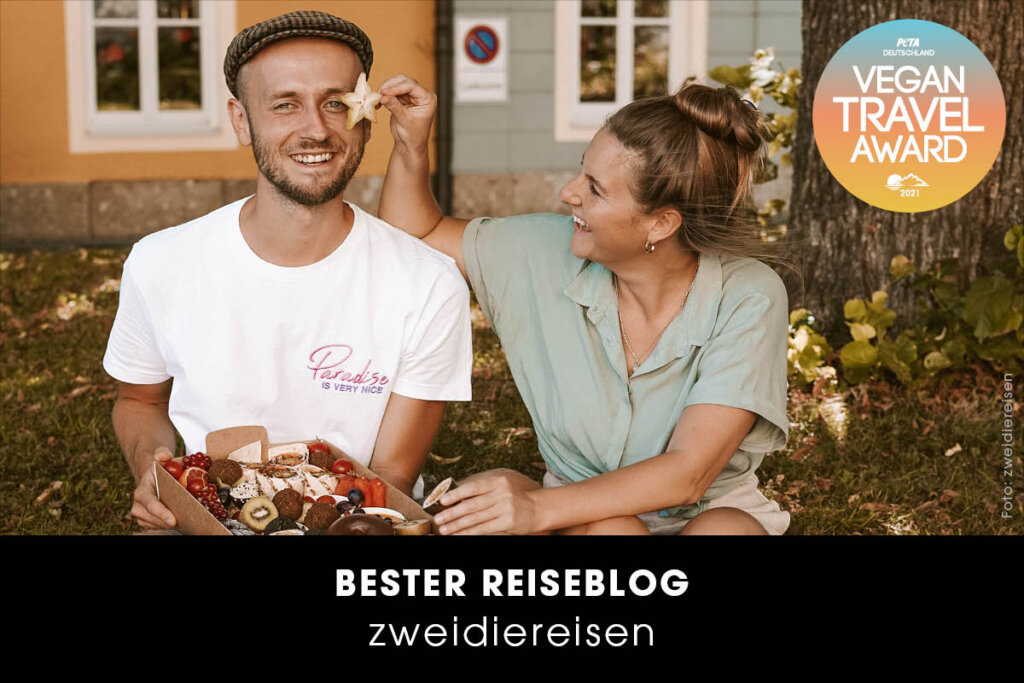 Vegan Travel Award Bester Reiseblog zweidiereisen