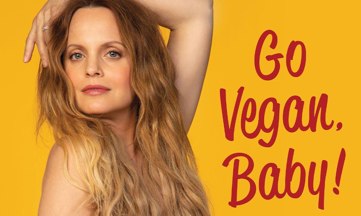 PETA Motiv Mena Suvari Go Vegan, Baby
