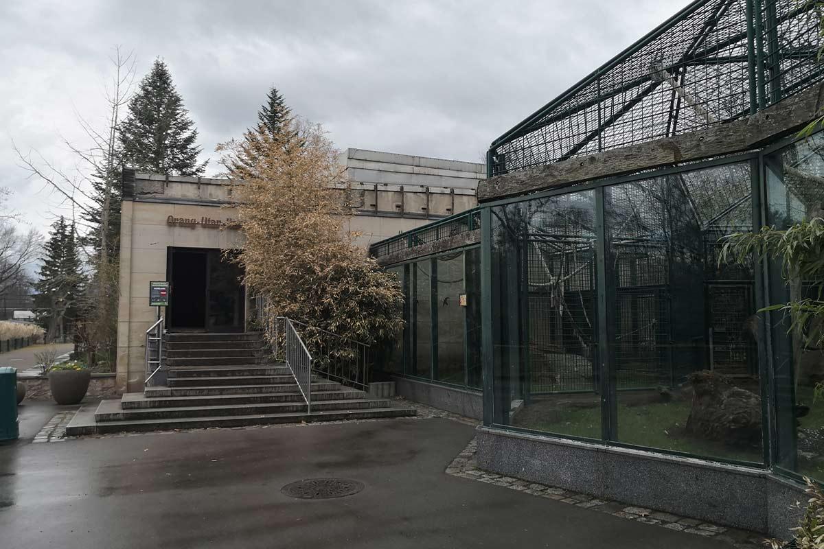 Zoo Dresden Gehege