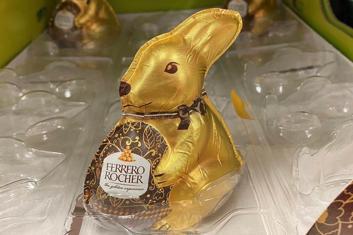 Ferrero Rocher Schokohase