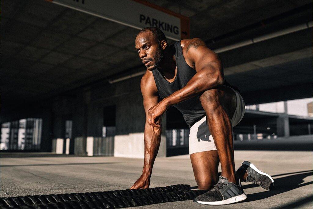 Sportler Athlet