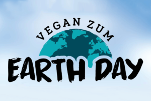 Vegan zum Earth Day Grafik