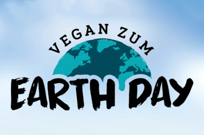 Vegan zum Earth Day Grafik