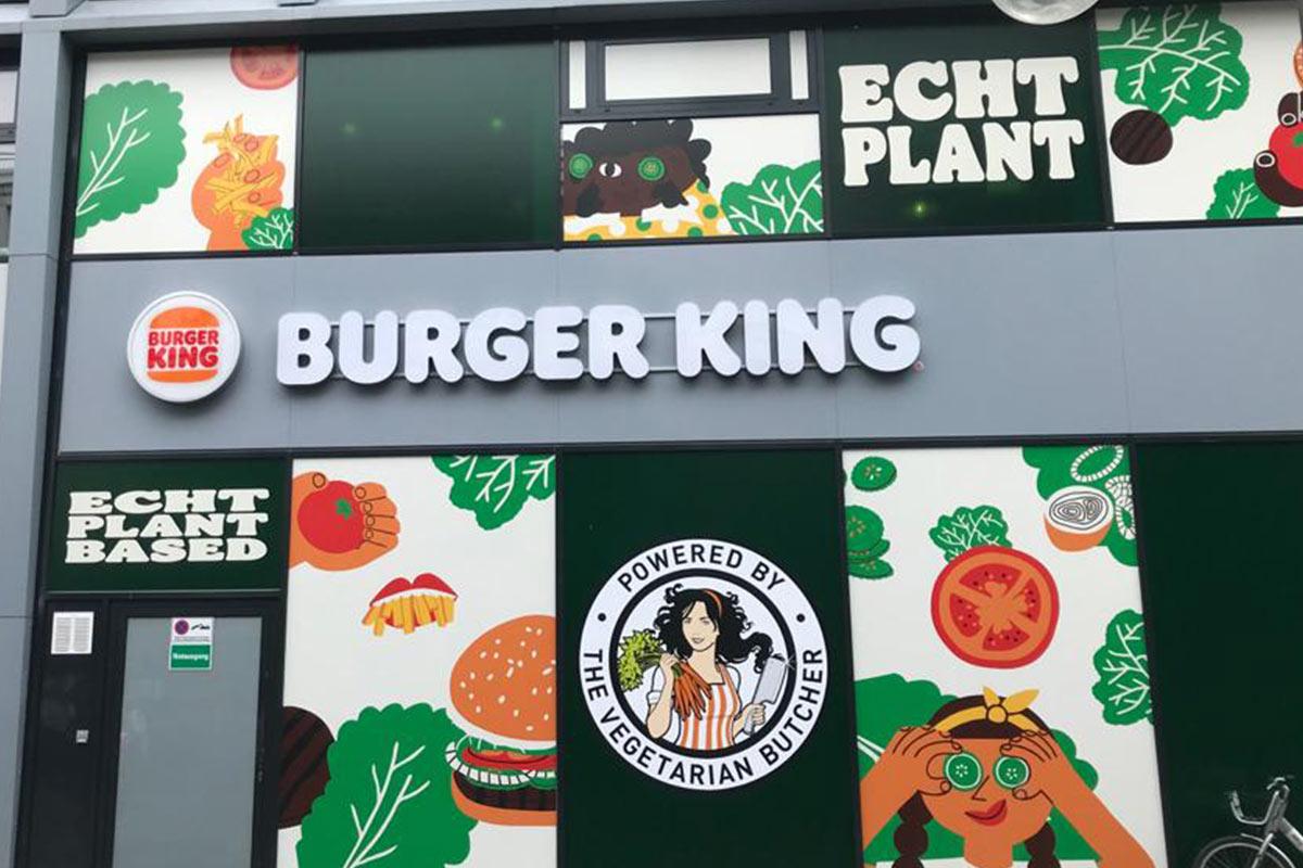 Burger King: Weltweit erster Plant-based Store in Köln