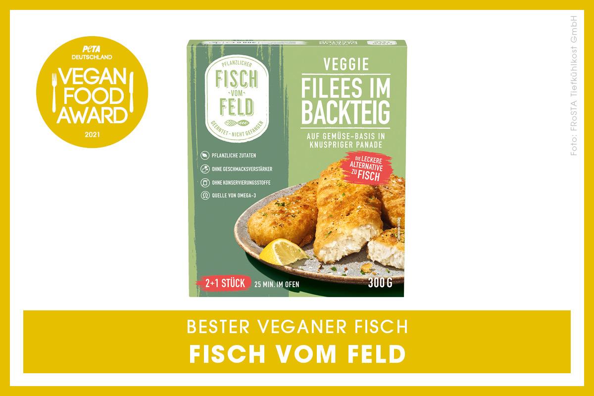 Vegan Food Award Gewinner Fisch vom Feld