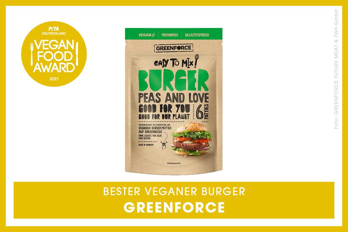 Vegan Food Award Gewinner Greenforce