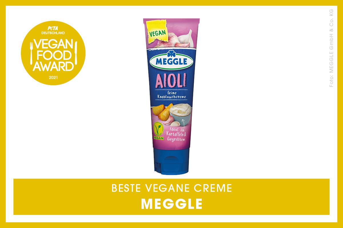 Vegan Food Award Gewinner Meggle
