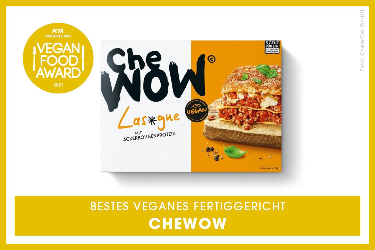 Vegan Food Award Gewinner Che Wow