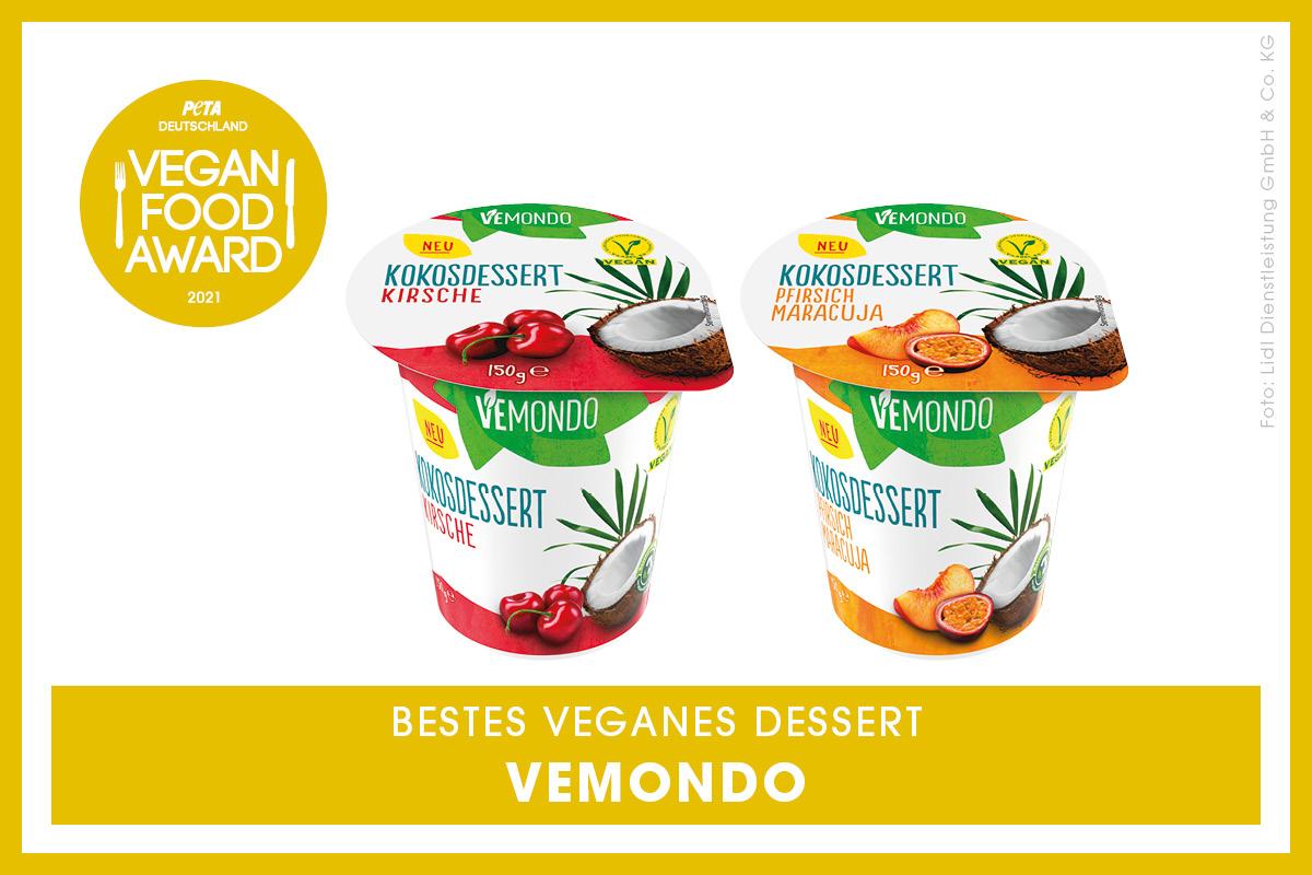 Vegan Food Award Gewinner Vemondo