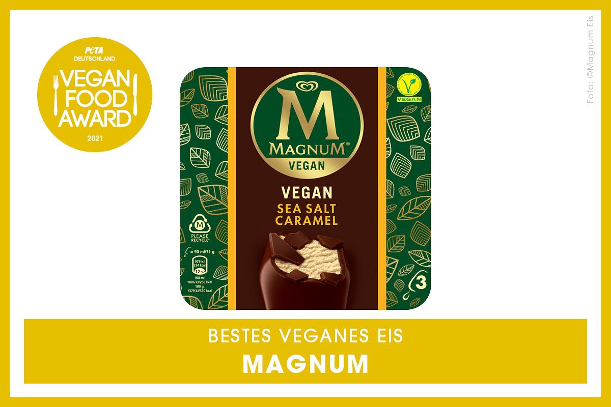 Vegan Food Award Gewinner Magnum