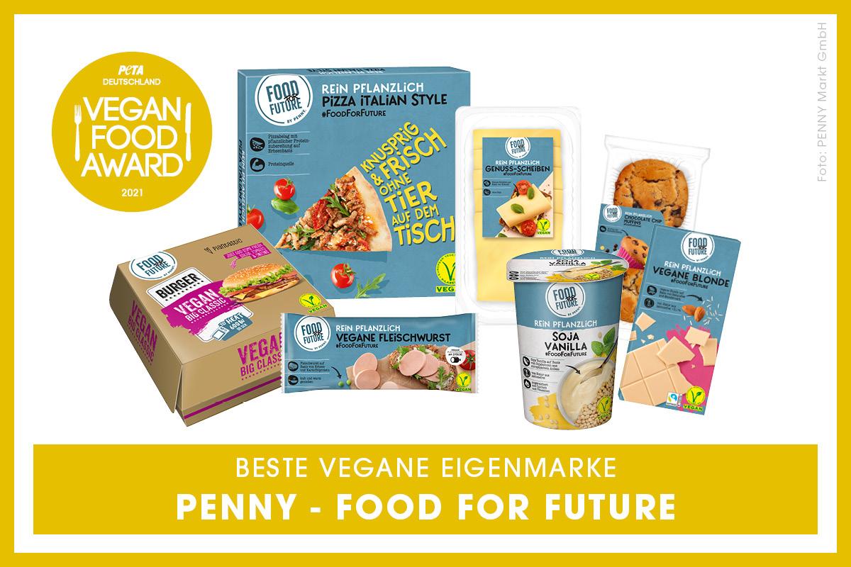 Vegan Food Award Gewinner Penny Food for Future