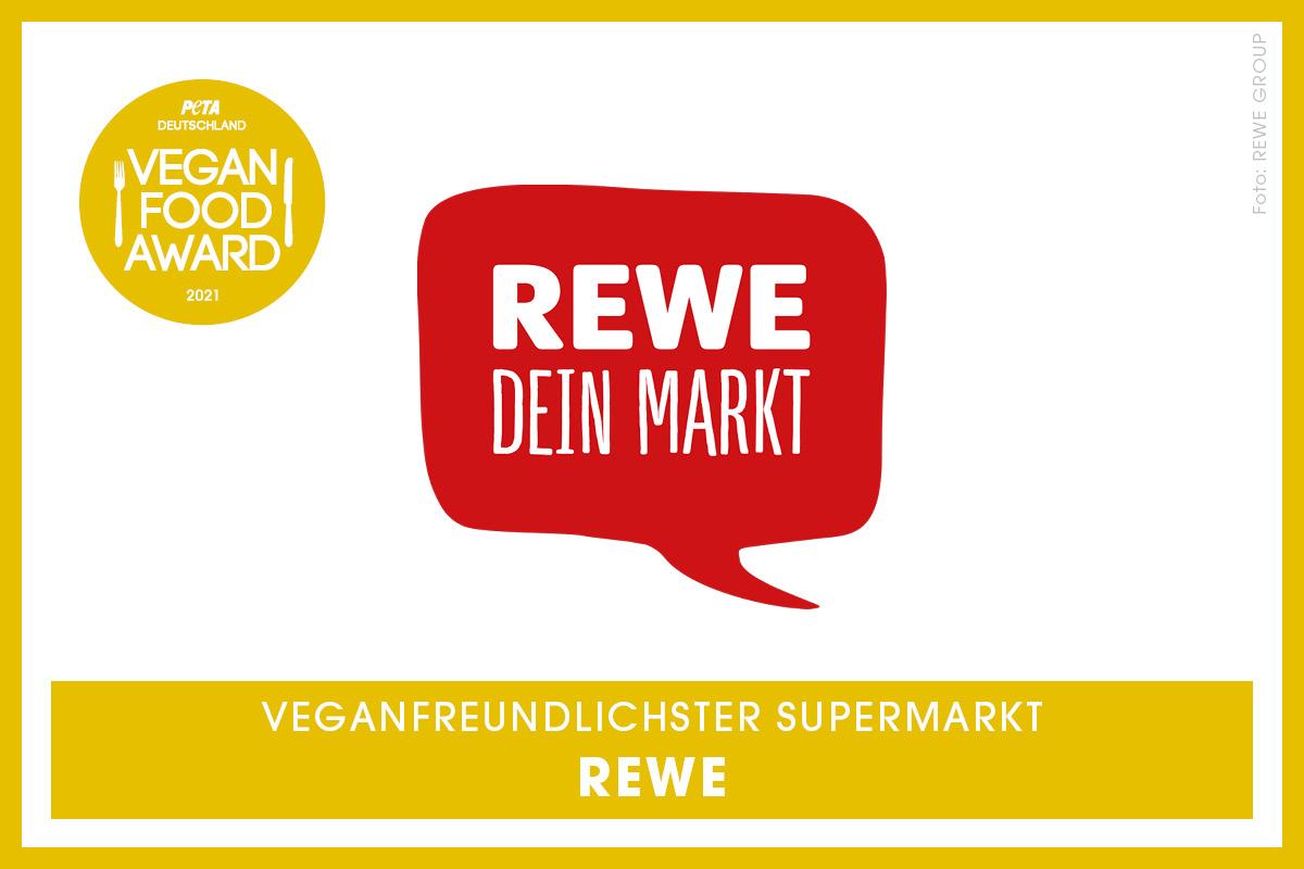 Vegan Food Award Gewinner Rewe