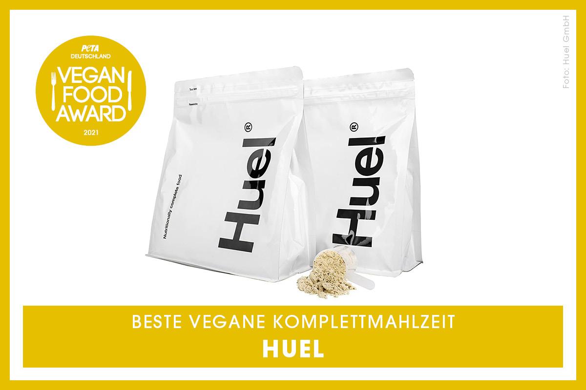 Vegan Food Award Gewinner Huel