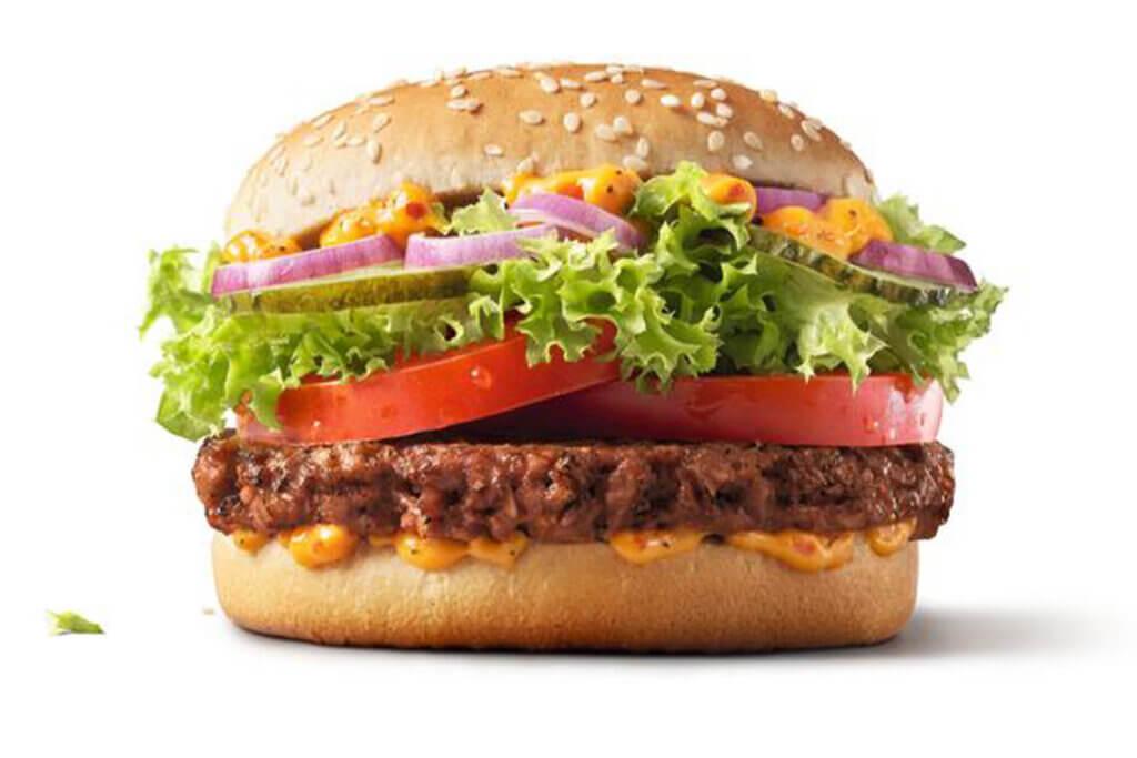 McDonalds Fresh Vegan TS