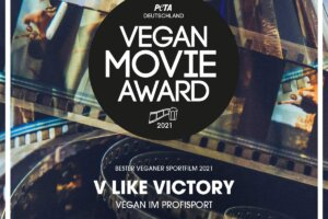 PETA Vegan Movie Award Urkunde