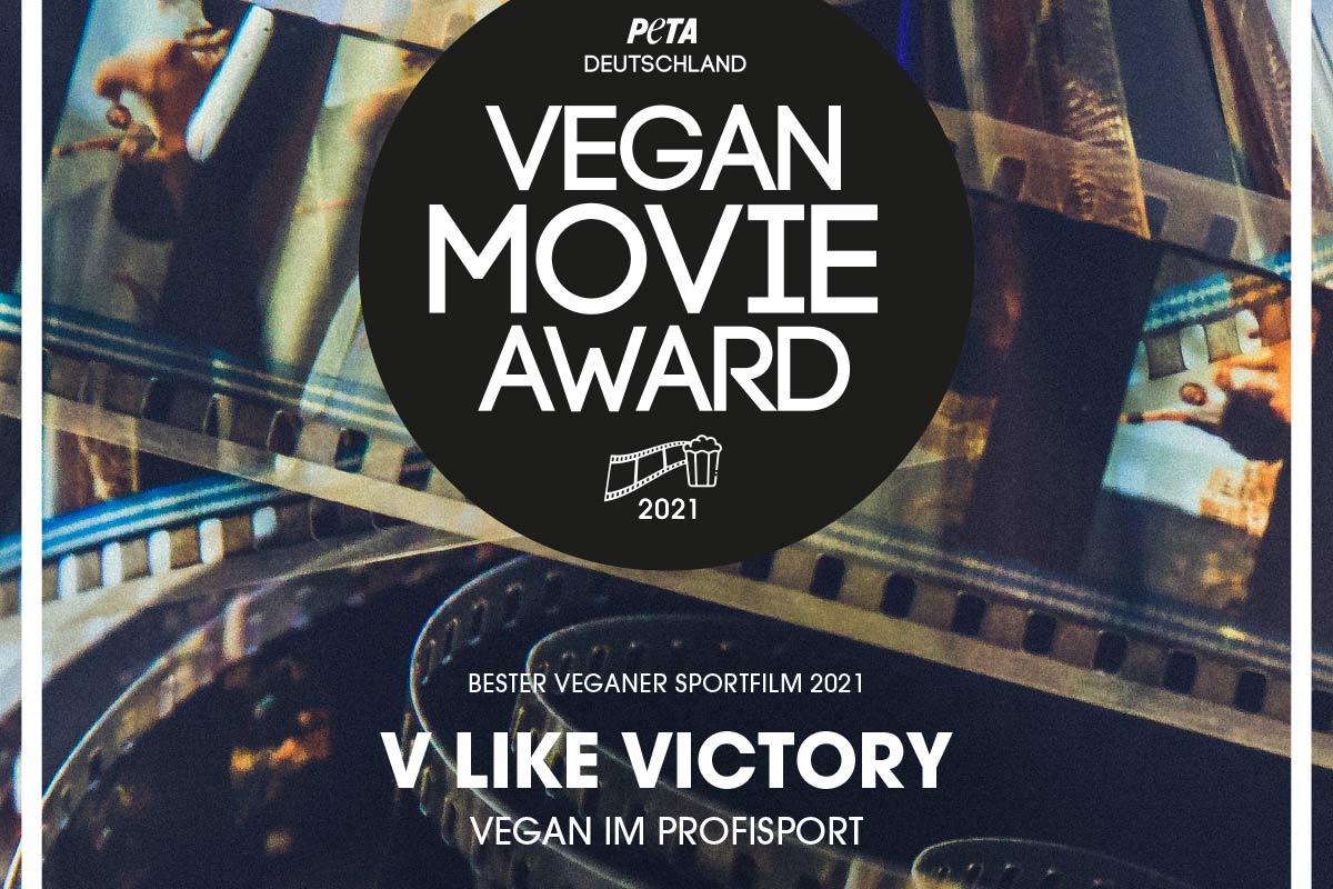"Veganer Sport: Doku ""V like Victory"" erhält PETA Movie Award"