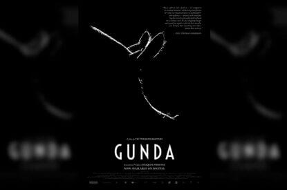 Filmplakat von Gunda