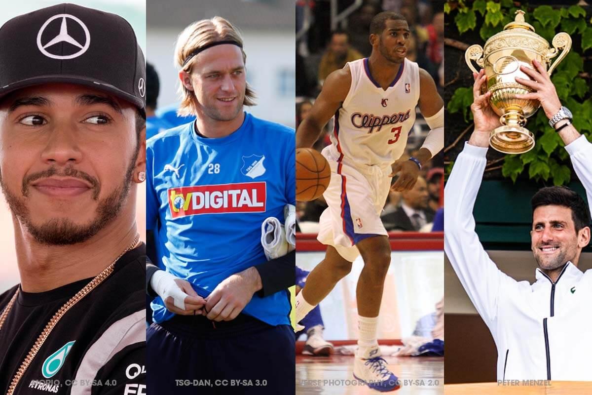 Vegane Sportler: Diese 10 internationalen Athleten leben vegan